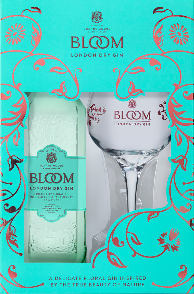 BLOOM London Dry Gin Gift Set