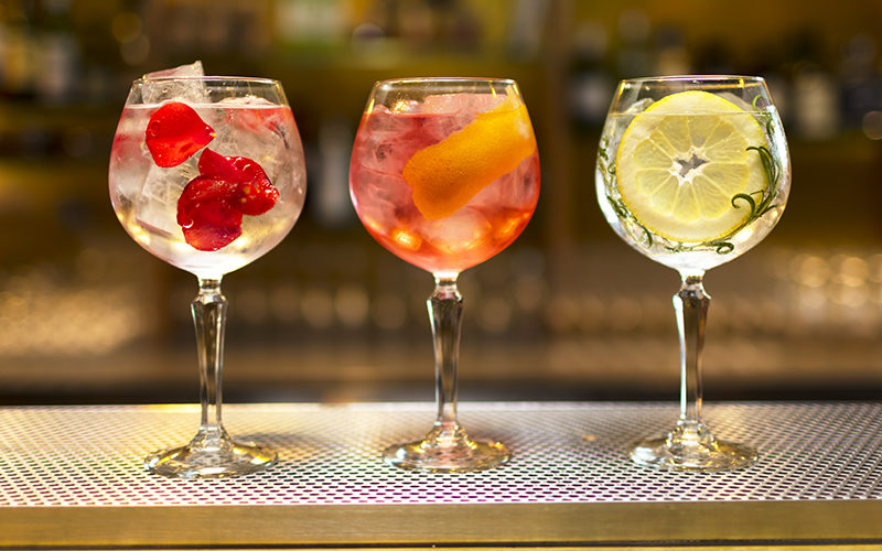 How many Calories are in a Gin and Tonic