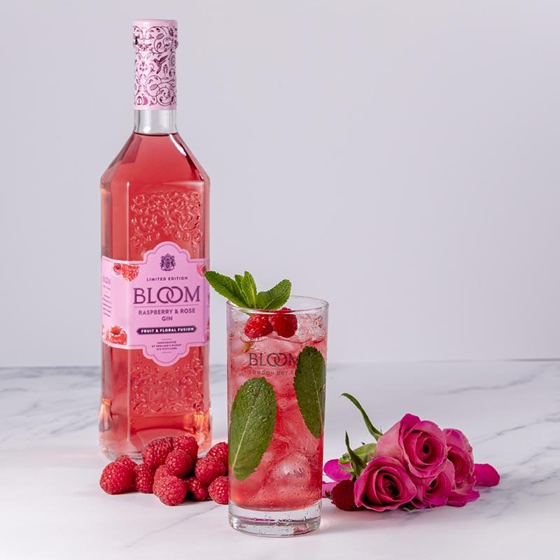 Raspberry & Rose Mojito